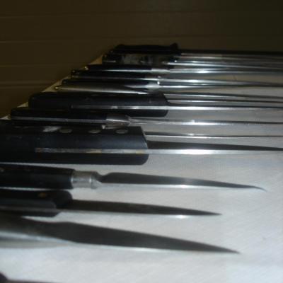 Le couteau de cuisine